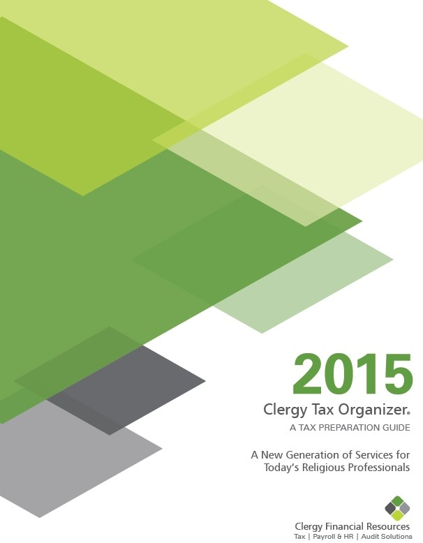 2015 Clergy Tax Organizer (PDF Download)