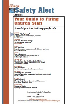 Your Guide to Firing Church Staff