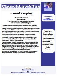 Record Keeping - Basic Training