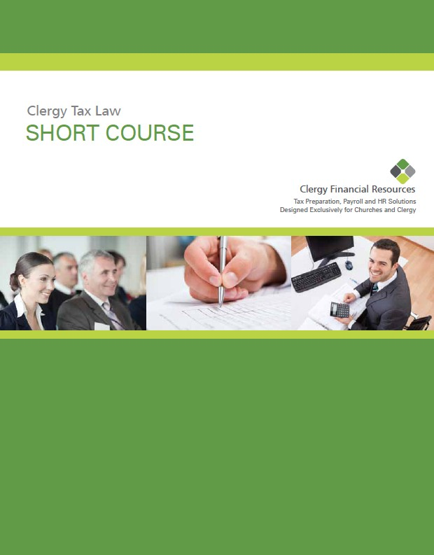 Clergy Tax Law Short-Course