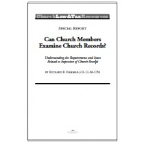 Can Church Members Examine Church Records?